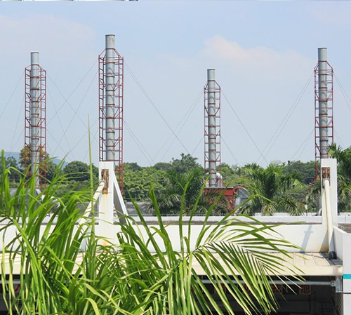 废气排放烟囱